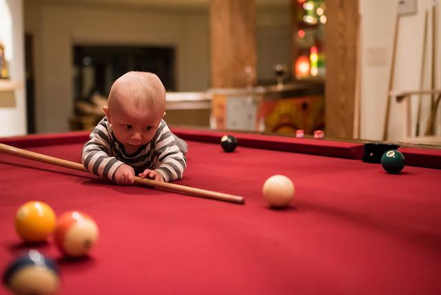 verjaardag kinder feestje  bowlen poolen