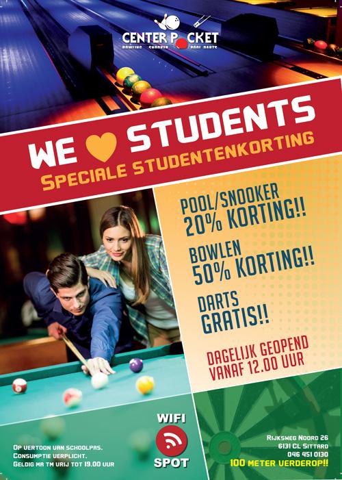 studentenkorting bowlen